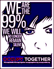 We are the 99 percent - Occupy Together
