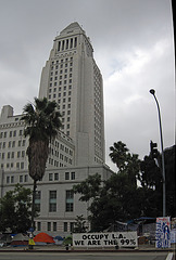 Occupied L.A. City Hall