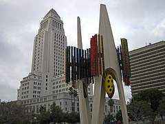 Great L.A. Walk (0912) L.A. City Hall & Triforium