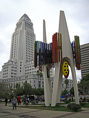 Great L.A. Walk (0913) L.A. City Hall & Triforium