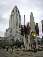 Great L.A. Walk (0914) L.A. City Hall & Triforium