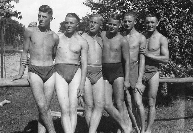bf87905c708 ipernity: 6 swimmers posing 1930' - by kerle-kerle