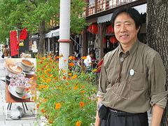 Song staras apud Nagasaki Haveno en 2010=Song standing by Nagasaki harbor in 2010=허성 일본 나가사키항에서 2010=許星在日本長崎 2010