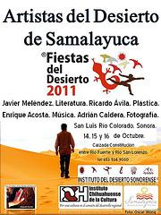 Propiciando el diálogo en la Cultura. Del Desierto de Samalayuca al Desierto de Sonora.