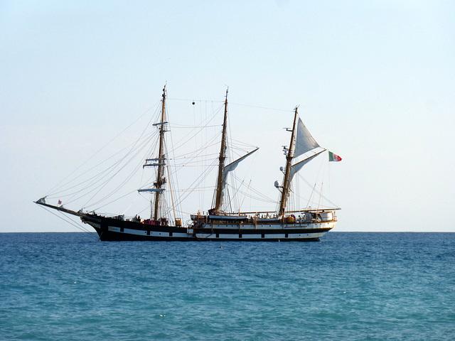 La nave scuola Palinuro