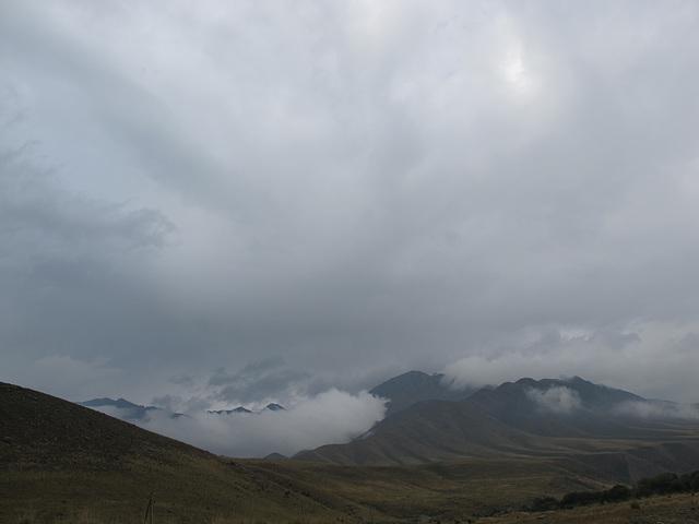 nuées chargées en Khirgizie