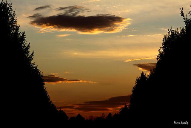 L'union du ciel et des nuages
