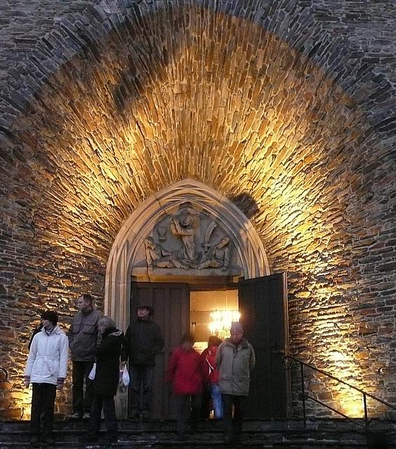 Kirchenportal Annaberg - Erzgebirge