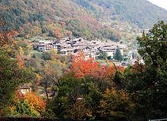 Mittelalterliches Dorf Canale
