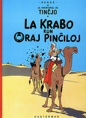 La Krabo kun oraj pinĉiloj / Le crabe aux pinces d'or