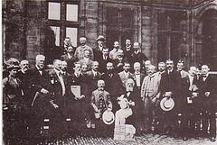 Ludoviko Zamenhof kun esperantistaj kuracistoj (1911)