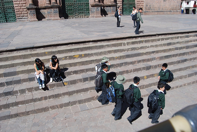 Rentrée des classes à Cusco