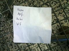 Found in my shopping trolley