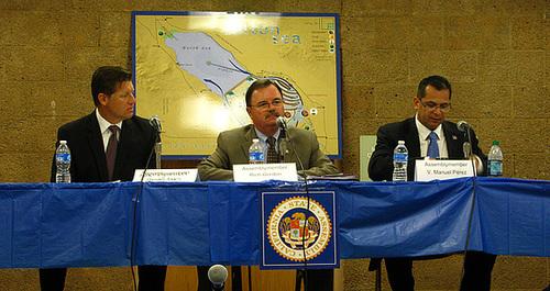 Assembly Members Brian Jones, Richard Gordon, Manuel Pérez (2617)