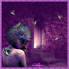 La dame aux colibris