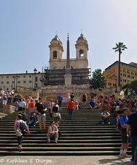 Rome - Spanish Steps  - 052214