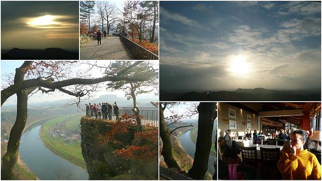 26.11.2011 - Impressionen auf der Bastei bei 8°C