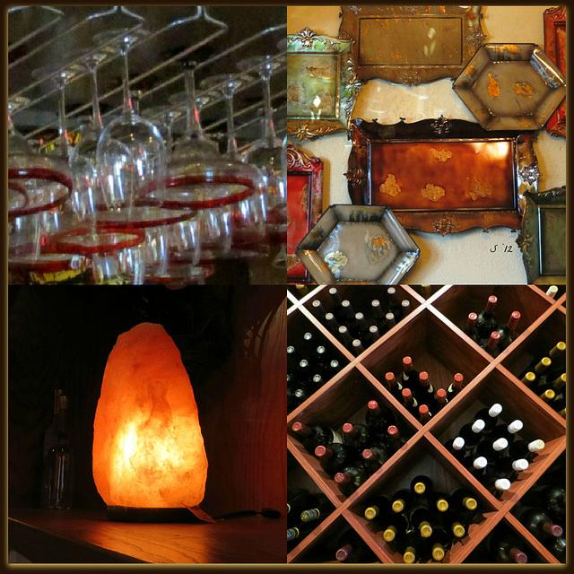 interesting ... ' x ' shaped wine rack