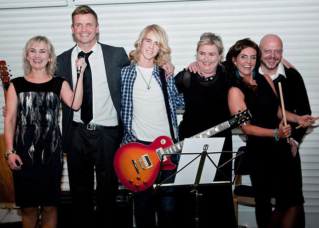 "The ""band"" we made for my 40th birthday party  :o)"