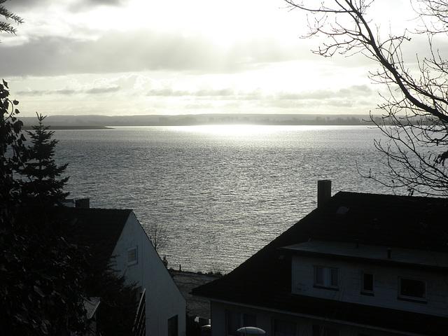 Panorama über die Elbe