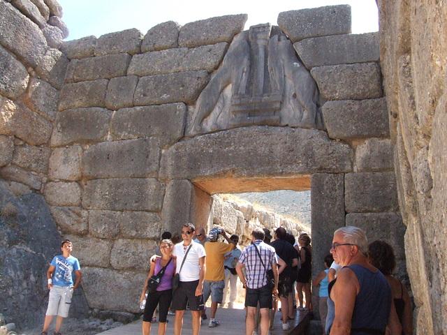 Mycenae- la pordego de Agamemnon