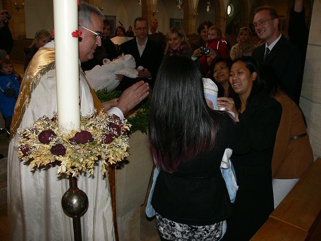 Taufe von Leon - 20.11.2011