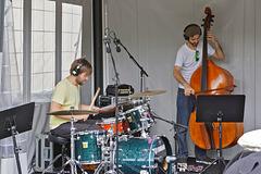 Jamming – Jazz Festival, de Maisonneuve near Jeanne-Mance, Montréal, Québec