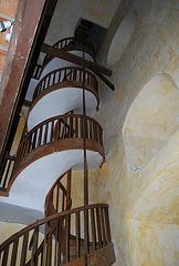 Dans le clocher de St Polycarpe