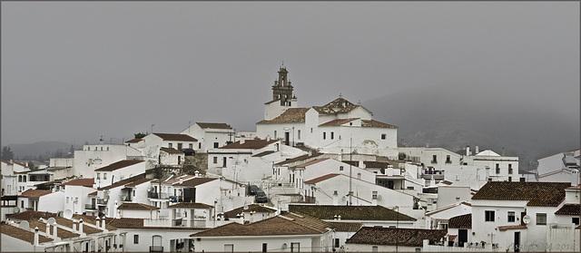 Sanlúcar de Guadiana, mañana de bruma
