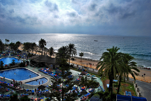 Amanece, que no es poco! Sunset Resort Benalmádena (Málaga).