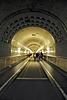 Alter Elbtunnel - Eingang zur Tunnelröhre