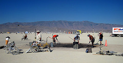 Removing Scorch Mark From The Playa (0269)