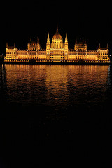 Budapest - Parliament building at night