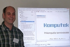 Yves Nevelsteen pri Komputeko