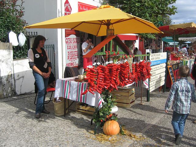 Festival du piment, Espelette.