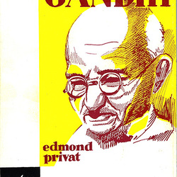 Vivo de Gandhi. Edmond Privat.