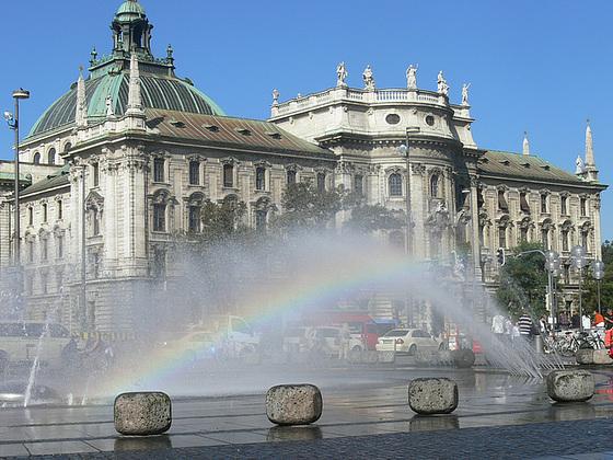 München so herrlich wie ein Regenbogen