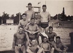 Polizei Schwimm Verein Chemnitz  1930's