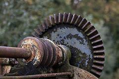 20110924 6535RAw Schneckengetriebe (altes Werrewehr)