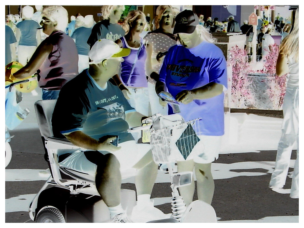 Traffic de calories / Calories heavy traffic - Disney Horror pictures show  - 30 décembre 2006 / Négatif