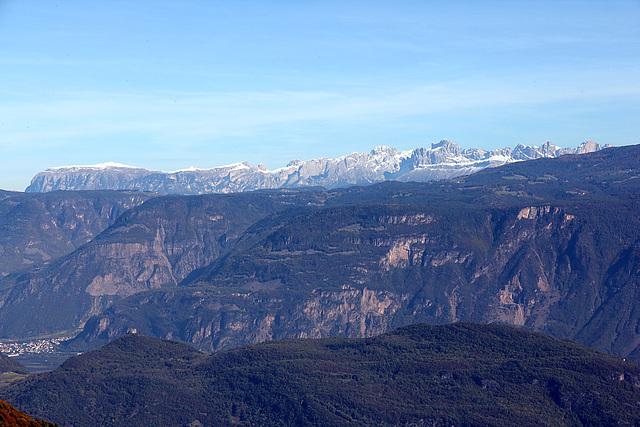 Blick vom Traminer Höhenweg
