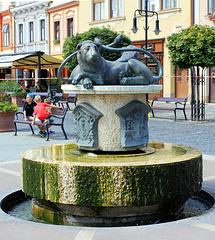 Brunnen in Köszeg, Ungarn