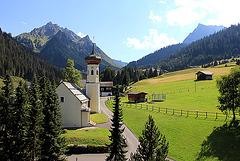 Kirche in Gargellen