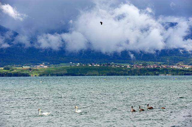 Le Jura est sous les nuages...