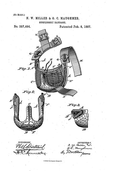 US patent 0357494, year 1887