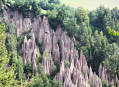 Erdpyramiden auf dem Ritten bei Bozen