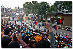 Wagah-Attari Border Crossing