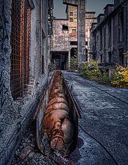rusty spirals along the way