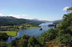 Queen's View, Loch Tummel, Scotland, Great Britain