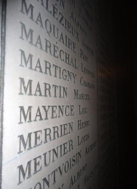 noms par ordre alphabétique